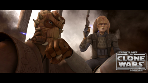 "Jedi Master Di and rebel leader Cham Syndulla formulate their battle plan in ""Supply Lines,"" an all-new episode of STAR WARS: THE CLONE WARS premiering at 9:00 p.m. ET/PT Friday, September 24 on Cartoon Network.  Trademark information for Star Wars: The Clone Wars images:  TM & © 2010 Lucasfilm Ltd. All rights reserved."