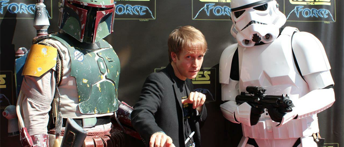 James Arnold Taylor hosting the main stage at Star Wars Celebration VI!